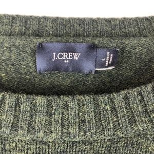 J. Crew 100% Lambs Wool Sweater